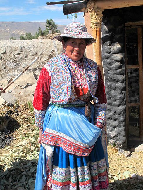 Corcina,a beautiful Cabana woman