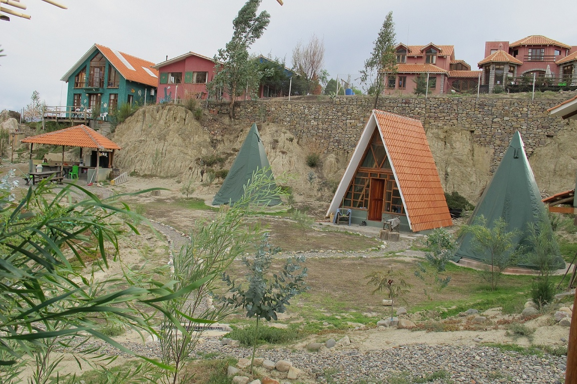 "The Up Close ""village"" in Jupapina, Bolivia"