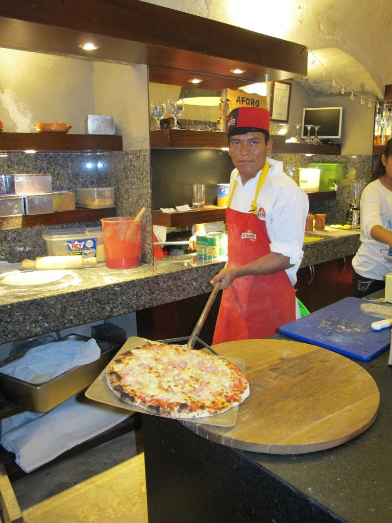 Hector- Pizza Chef Arequipeno